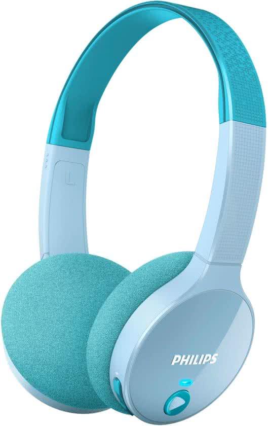 Philips kinderkoptelefoon-blauw