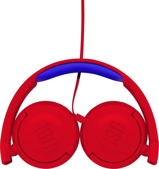 jbl kinderkoptelefoon rood2 Kinderkoptelefoon