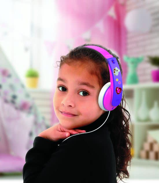 jbl kinderkoptelefoon roze meisje Kinderkoptelefoon
