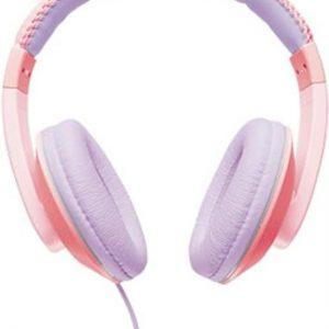 Trust Sonin – kinder koptelefoon – Roze
