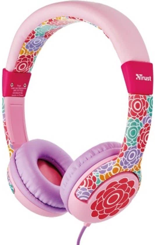trust roze meisjeskoptelefoon