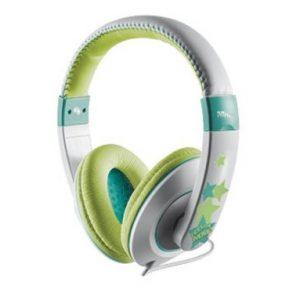 Trust Sonin – Groen-grijze kinderkoptelefoon