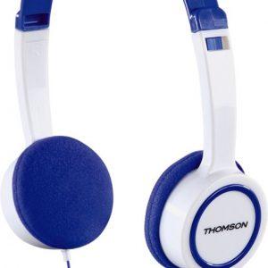 Wit-blauwe kinderkoptelefoon –  Thomson HED1105