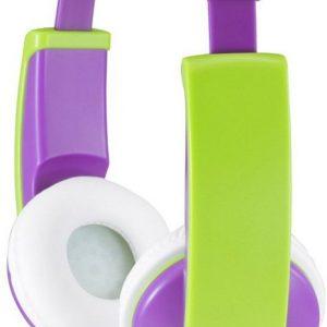 Paarse kinderkoptelefoon JVC HA-KD5
