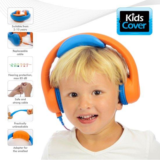 kidscover koptelefoon