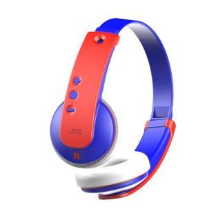 Draadloze kinderkoptelefoon – Blauw/Rood – JVC HA-KD9BT-A-E