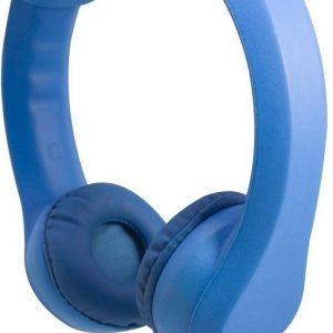 Grixx Optimum Kinderkoptelefoon – max. 86dB – Buigzaam – Blauw