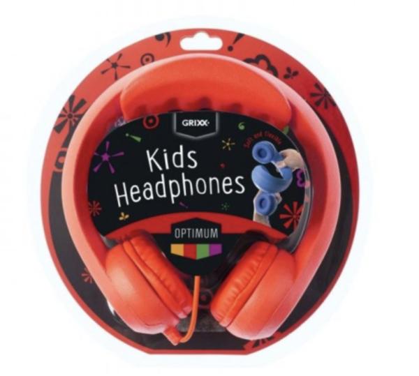 grixx-optimum-rood kinderkoptelefoon